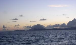 大根占の雄大な海