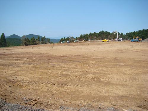 かつて、勝田さんが牧場を開いた土地。